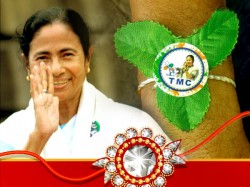 Trinamool Congress Outmatches Bjp Public Relation Raksha Bandhan