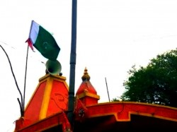 Pakistani Flag Found Atop A Hanuman Temple Mp Town