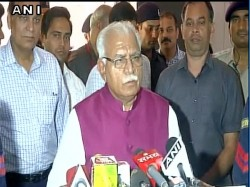 Haryana Cm Rubbishes Opposition Criticism Over Haryana Violence
