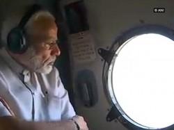 Pm Modi Announces Rs 500 Crore Relief Flood Hit Bihar After Aerial Survey