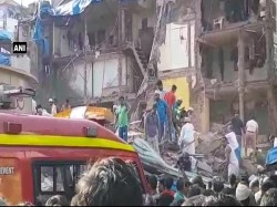 Storeyed Building Collapses Mumbai Many Feared Trapped Inside Debris