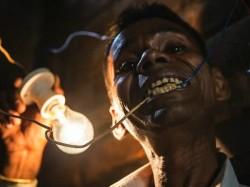 Naresh Kumar Muzzafarnagar Uttar Pradesh Eat Electricity Like Food