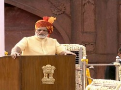 Independence Day Celebration From Red Fort Modi Speech On Bengal
