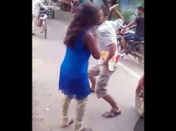 Bihar Cop Ruthlessly Beats Up Girl