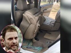 Goa Congress Women Cell Send Bangles Modi Shah Protest Attack On Rahul S Car