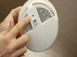 Couple Discover Hidden Camera Inside Smoke Detector