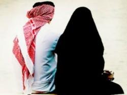 Saudi Man Divorces Wife Walking Ahead