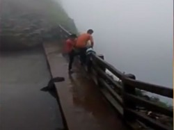 Two Drunken Friends Fall Gorge Video Goes Viral