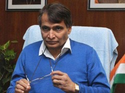 Suresh Prabhu Takes Moral Responsibilty Recent Train Accidents
