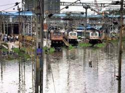 Water On Rail Track North Bengal Bound Train Services Disrupts