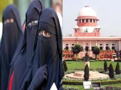 Supreme Court Upholds Triple Talaq Practice Asks Union Government Bring Legislation