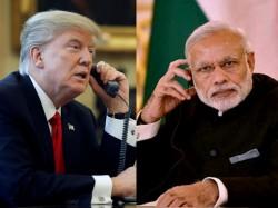 Narendra Modi Donald Trump Agree Enhance Peace Across Indo Pacific Region