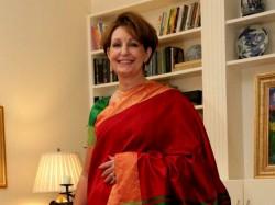 Us Envoy Choose Wear Kanjeevaram On Independence Day