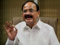 Venkaiah Naidu Set Become New Vice President India