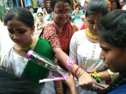 Special Rakhi Function At Behala Gives Strong Message Against Child Marriage