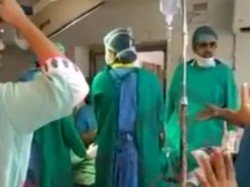 Doctors Fight During Emergency Operation Caught On Camera