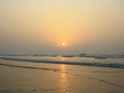 The Mystery Voice Spread Digha Sea Beach Supersonic Fighter Jet
