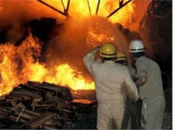 Explosion A Fire Cracker Unit At Amdanga North 24 Parganas