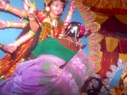 Tribal Woman From Bankura Domohani Worships Durga About Twelve Years