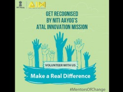Niti Aayog Invites Application Mentor India Initiative Atal Innovation Mission