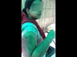 Woman Was Beaten Husband After She Caught Him An Objectionable Position In Ghaziabad