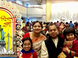 Dugra Puja Is Celebrated A Grand Style Delaware Usa