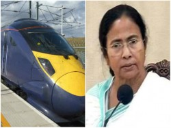 Mamata Banerjee Proposes Run Bullet Train From Andal Dumdum