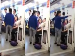 Elderly Woman S Shocking Act After Man Refuses Give Up Seat On Train