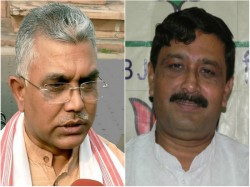 Dilip Ghosh Rahul Sinha Attack Mamata Government Hill Issue