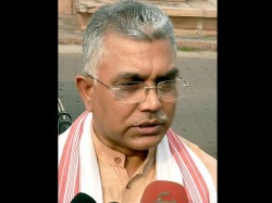 Dilip Ghosh Says West Bengal Police Does Undemocratic Inhuman Activities