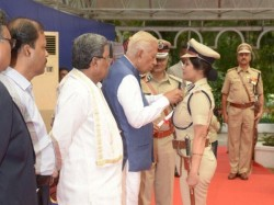 Karnataka Cop D Roopa Conferred With Presidents Medal