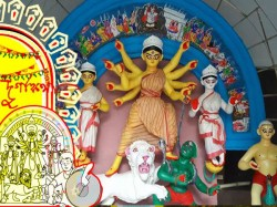 Durga Puja Jorasanko Dawn Kolkata Starts The Year