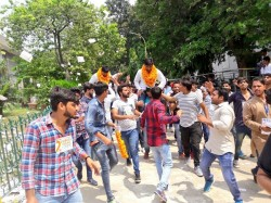 Another Setback Abvp Nsui Wins President Vp Posts