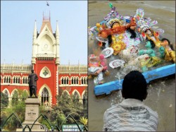 Setback West Bengal Government Hc Rules Immersion Order