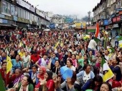 Tension Spread Kurseong Two Rally Morcha