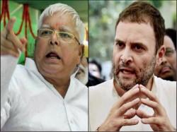 Bihar Congress Mlas Seek Split With Rjd Talked Rahul Gandhi Take Firm Decision