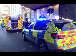 Blast A London Tube Train