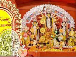 Pilgrims Visit Durga Puja Celebration Ignoring The Weather Condition