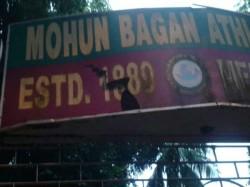 East Bengal Fans Bring Shame Kolkata Maidan Destroying Mohun