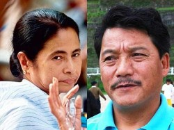 Representatives Bimal Gurung Join Hill Meeting Mamata Banerjee