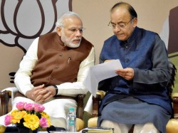 Pm Narendra Modi Meet Fm Arun Jaitley Officials Review Economic Situation India