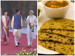Kinds Dishes Of Prepared Shinzo Abe S Dinner In Gujrat
