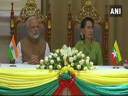 Pm Modi Emphasizes On Deepening Relations With Myanmar