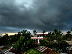 Weather Office Forecast Rain Is Continued Whirlpool Over Bay Of Bengal