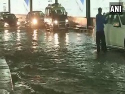 Heavy Rain Battered Mumbai Again Triggering Waterlogging Many Areas