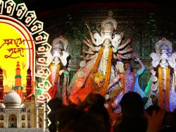 Mumbai S Durga Puja Mixed Up With Bollywood Culture Serves N
