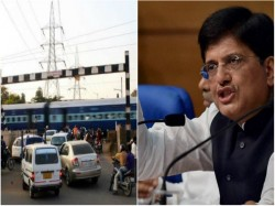 Railway Minister India Piyush Goyal Meets Rail Board Officials