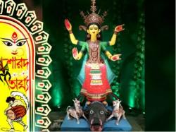 Tala Dakshinpalli Durga Puja Gets Green On Its Golden Jubilee
