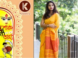 Kolkata S Kountry Bringing Bengal Face This Yerar S Durga Puja Fashion