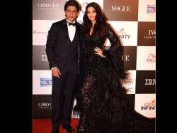 Aishwarya Rai Bachchan Shahrukh Khan At The Vogue Awards